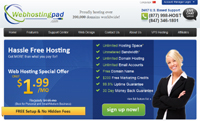 link to web hosting pad web hosting